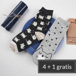 katten-sokken-gift-set-stapelkorting