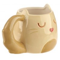 Feline-fine-katvormige-mok-crème-1
