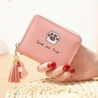 Katten-portemonnee-give-me-5-roze