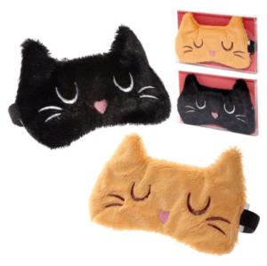 Slaapmasker-kat