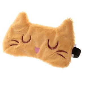Slaapmasker-kat-oranje