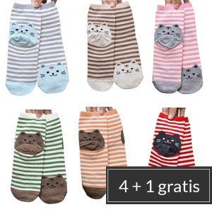 gestreepte-katten-sokken-stapelkorting