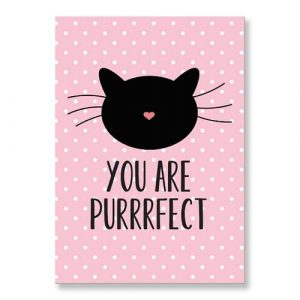 kaartje-you-are-purrrfect