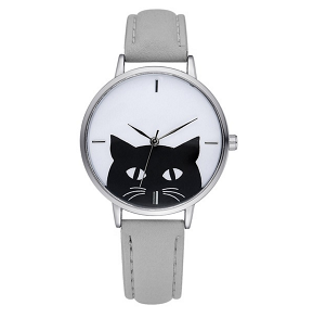 katten-horloge-black-cat-zilver-grijs