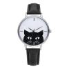 katten-horloge-black-cat-zilver-zwart