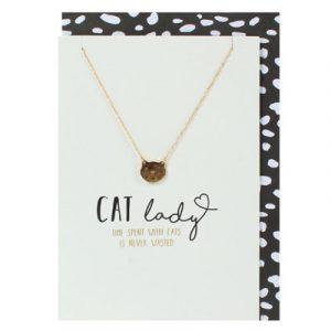 katten-ketting-cat-lady-goud