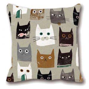 katten-kussenhoes-cats-all-over