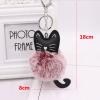 katten-sleutelhanger-pompom-rood