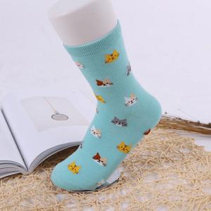 katten-sokken-tiny-cats-lichtblauw