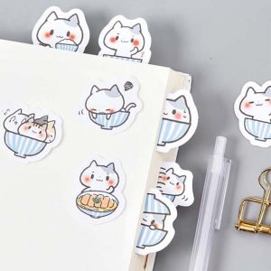 katten-stickers-paars-cats-in-cups
