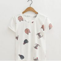 katten-t-shirt-cats-all-over