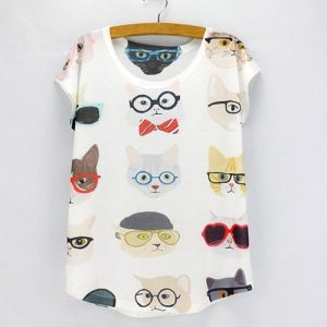 katten-t-shirt-cats-with-glasses