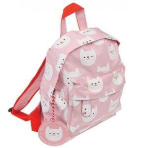 kinder-rugzak-roze-kattenprint-cookie-the-cat