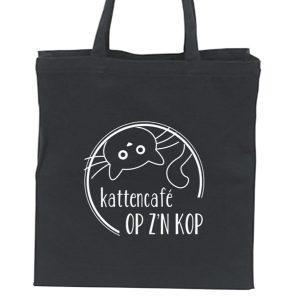 linnen-tas-katten-print-zwart-achterkant