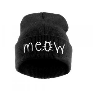 muts-beanie-meow-zwart