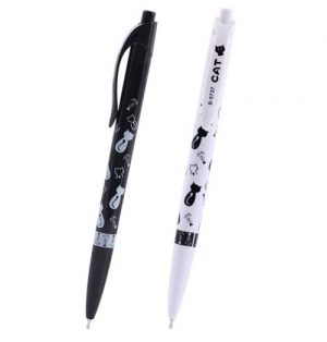 pen-kattenprint-zwart-wit