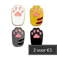 pins-cat-paw-stapelkorting