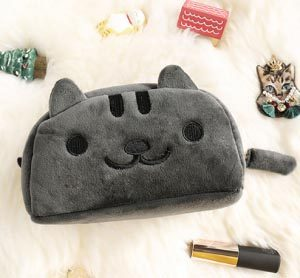 pluche-katten-make-up-etui-grijs