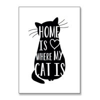 poster-home-is-where-my-cat-is