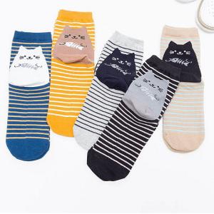 retro-katten-sokken-gestreept