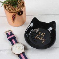 sieraden-schaaltje-cat-lady-zwart