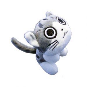 sleutelhanger-cutie-cat-grijs-wit