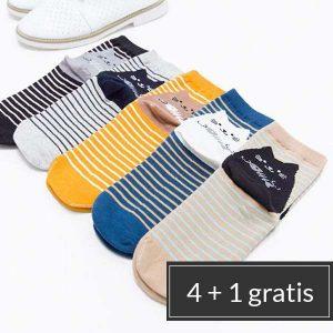 stapelkorting-katten-sokken-retro