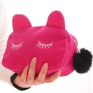suède-make-up-etui-kattenoortjes-roze-2