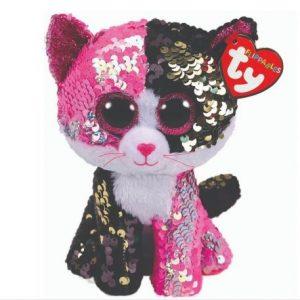 Beanie-boo-glitter-cat-malibu