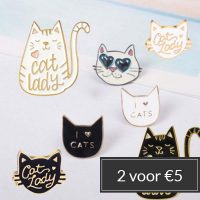 pins-cat-lady-stapelkorting-2-voor-5