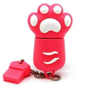 USB-stick-kattenpootje-roze-1