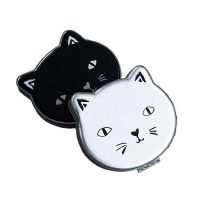 make-up-spiegeltje-kat-zwart-wit