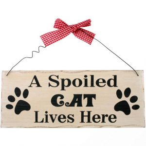 cat-quote-A-spoiled-cat-lives-here-sign