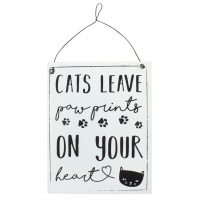cat-quote-Cats-leave-paw-prints-on-your-heart-sign