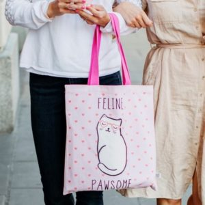 Feline-pawsome-linnen-tas-1-min