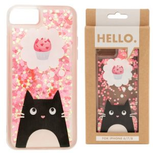 iphone-hoesje-glitter cupcake-cat-2