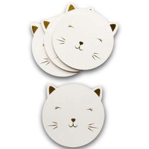 katten-onderzetters-wit-goud