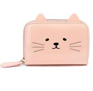 Pasjeshouder-katten-portemonnee-roze