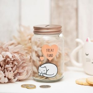 katten spaarpot treat fund