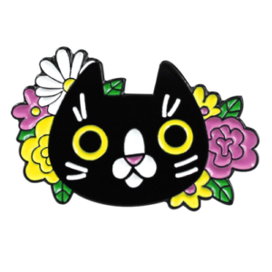 Cat-pin-flower-cat