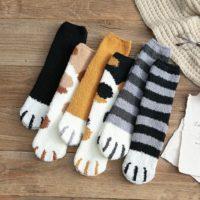 Katten-sokken-winter-sokken