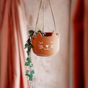 Hangplant-plantenpotje-kat-terra-cotta