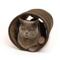 Katten-speel-tunnel-herringbone