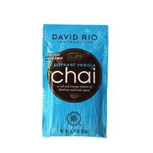 David Rio Elephant Chai Vanilla Proefzakje 1