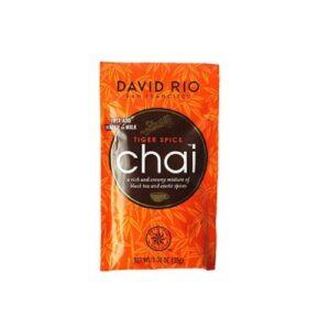 David Rio Tiger Spice Chai Proefzakje 1