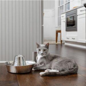Katten Drinkfontein Roestvrij staal 2