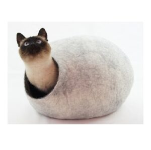 Wollen Kattenmand Design Rond 2 kleuren 1