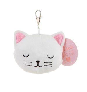 kattensleutelhanger cutie cat pluche zacht 2
