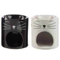 Katten wax brander kattengezicht 2 varianten