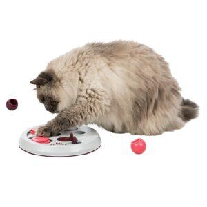 Katten voerspel flip board